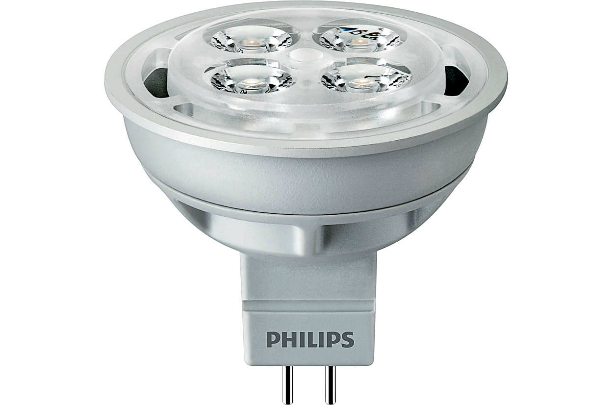 PHILIPS Essential LED 4.2-35W 2700K MR16 24D