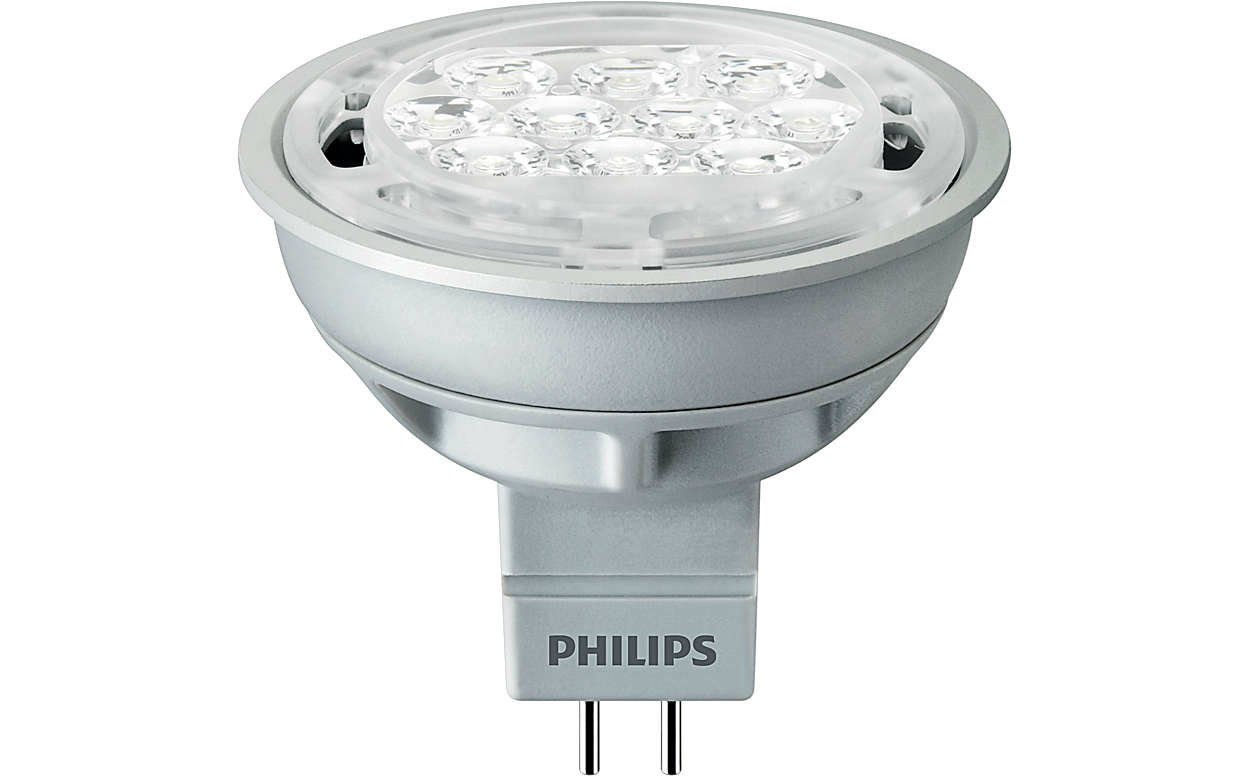 PHILIPS Essential LED 5-50W 2700K MR16 24D