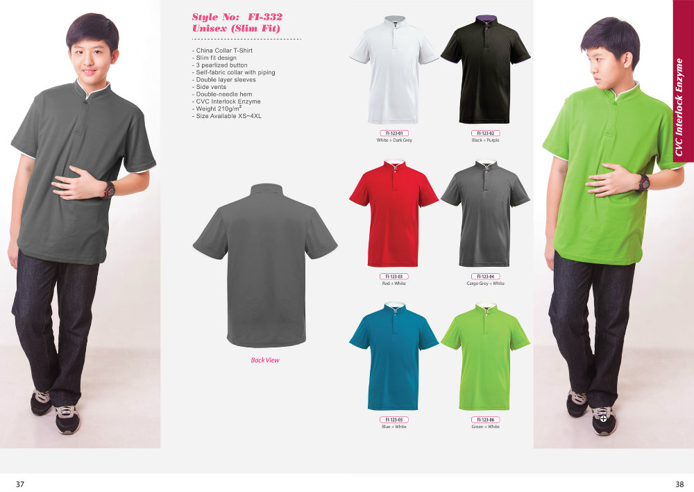 ID-FI 332 (Slim Fit) + Colors