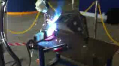 Robotic Welding Process Jaw Grabber Fabrication