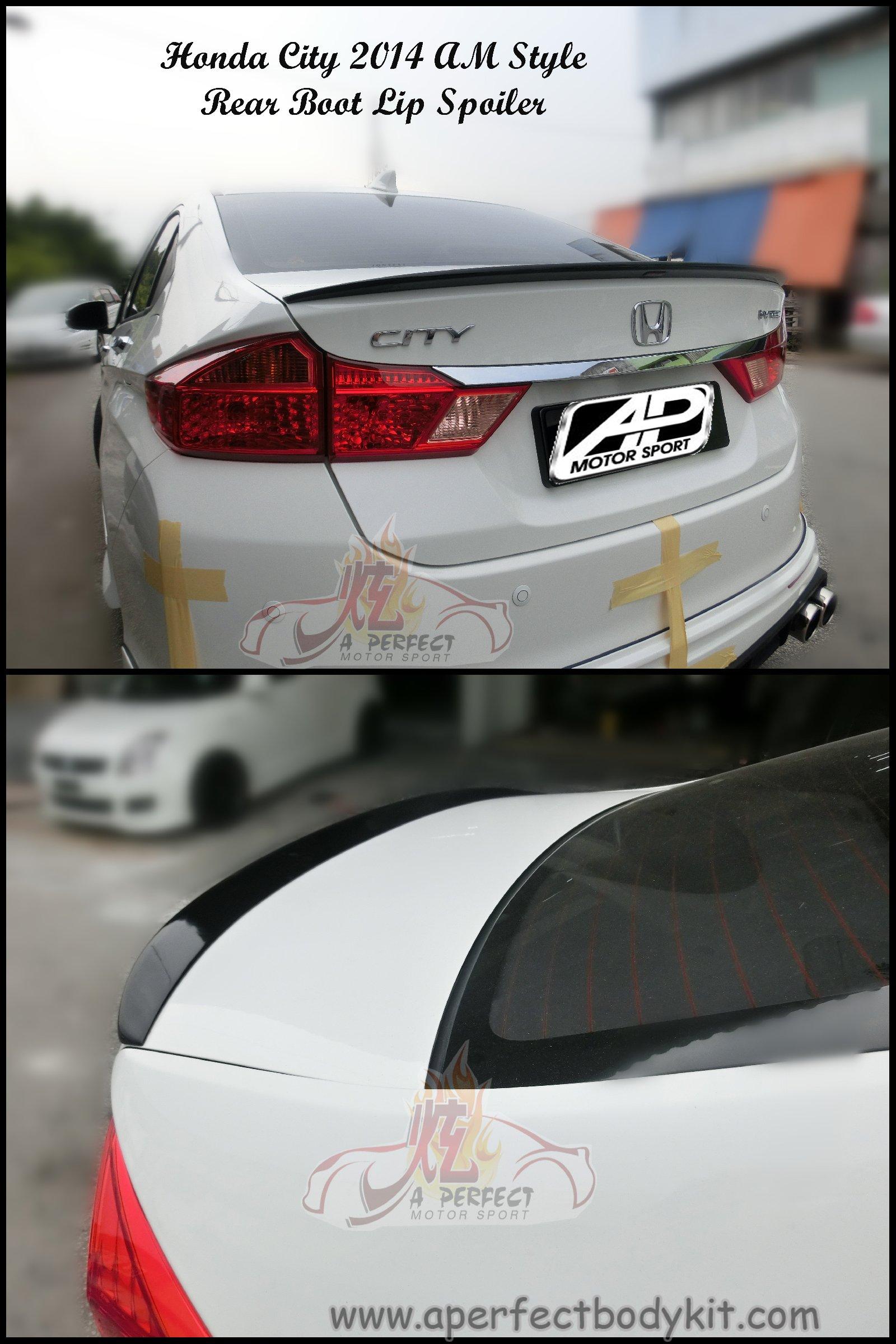 honda city   style rear spoiler honda city  johor bahru jb malaysia body kits