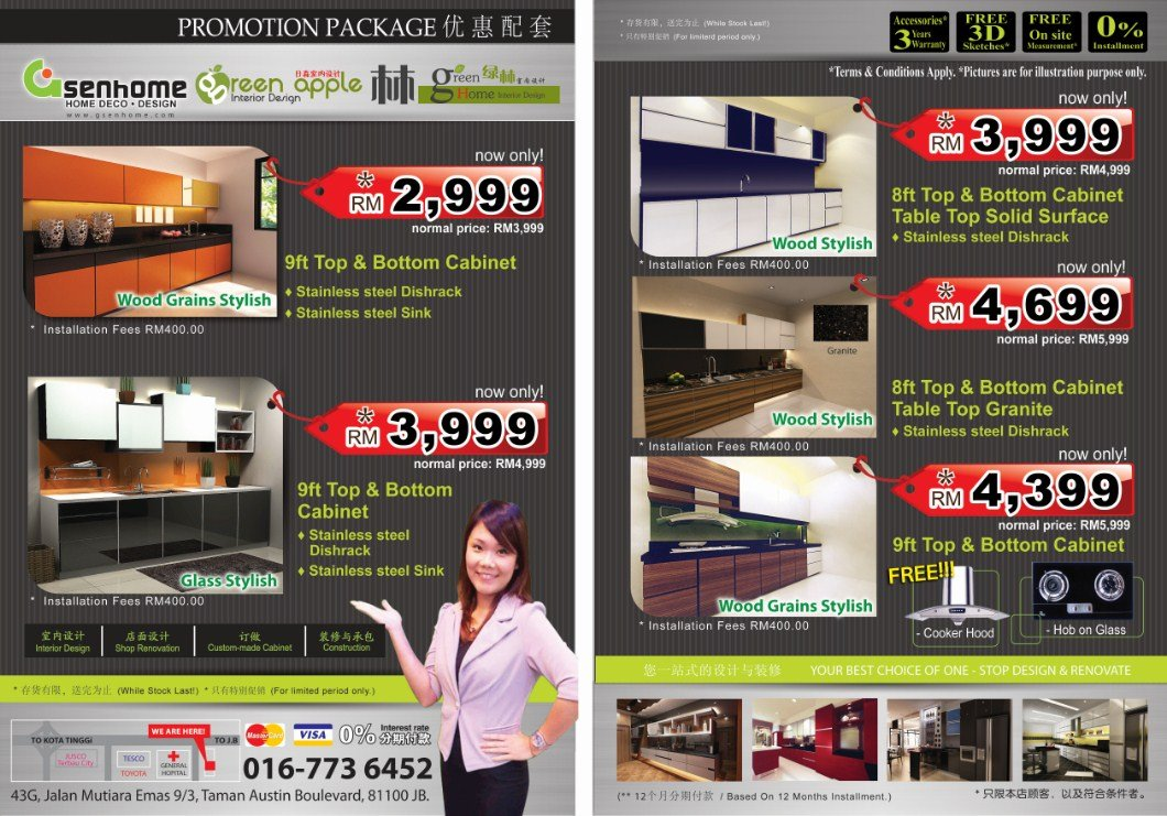 Kitchen renovation package 2015