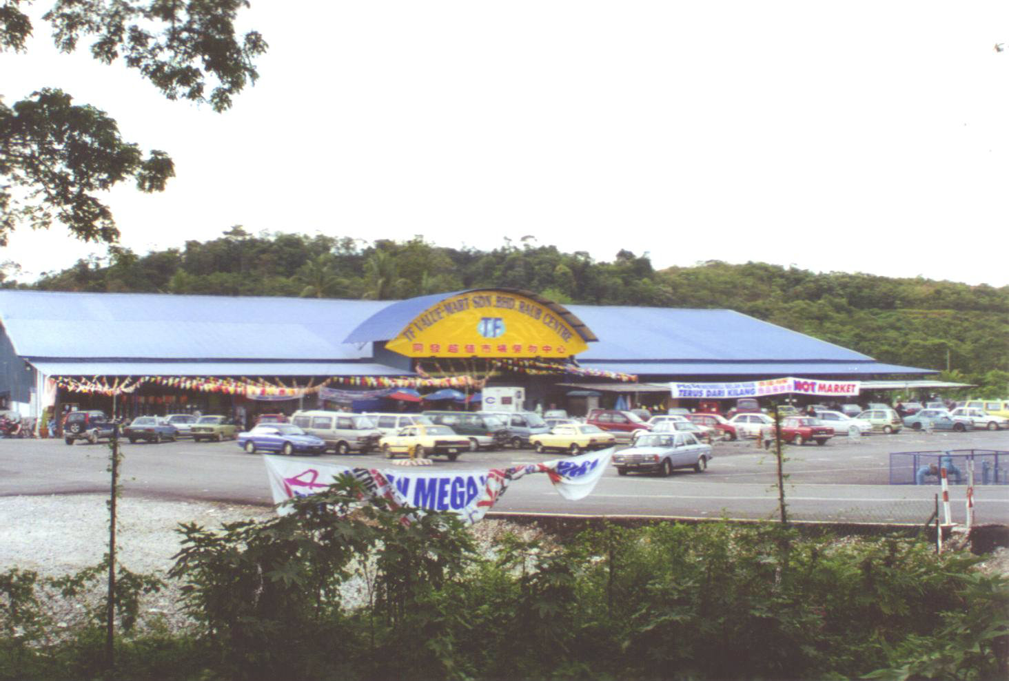 General View to TF Value Mart at Raub, Pahang