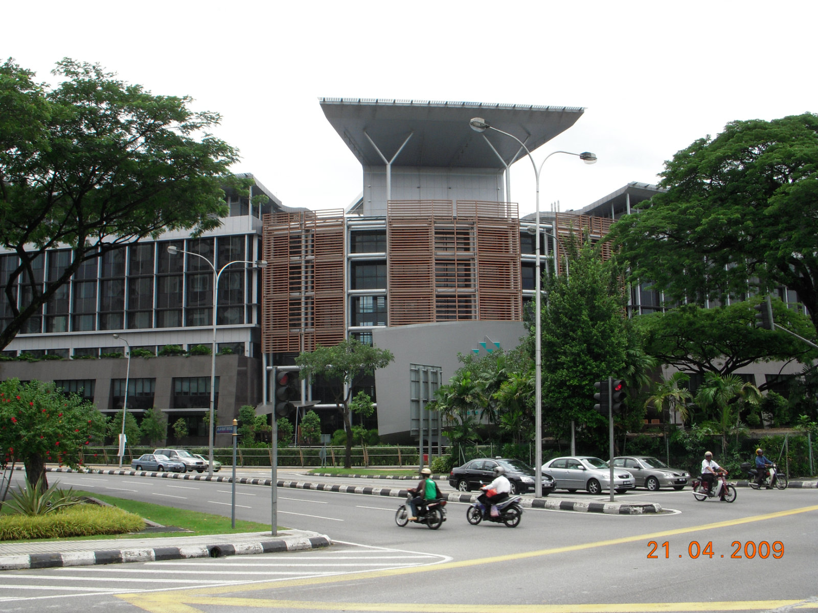 General View to Prince Crown Hospital at Jalan Tun Razak, Ku