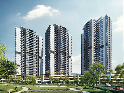 General View to Infinity Residences,Wangsa Maju