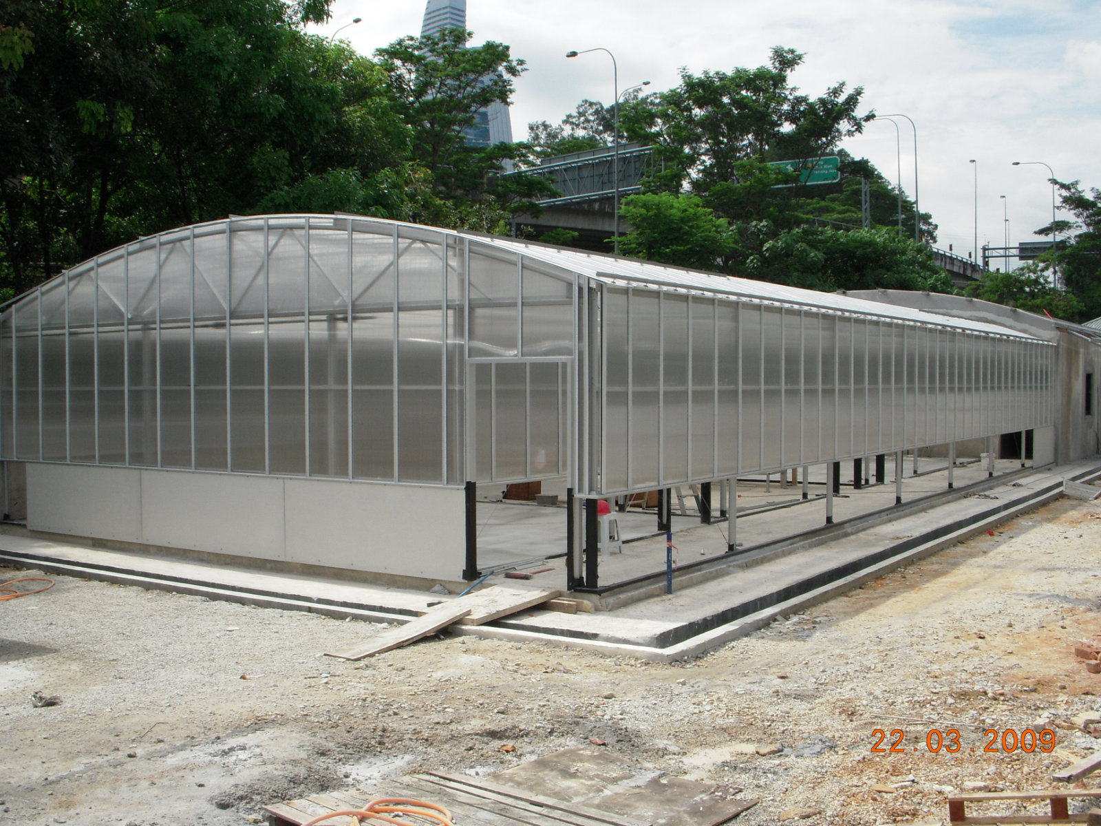 General View to Green House Project at University Malaya at