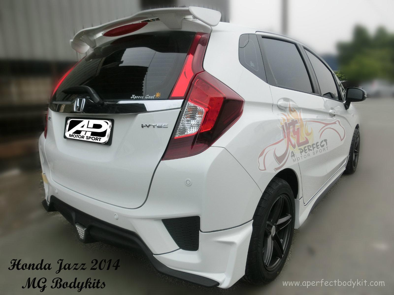 Honda Jazz 2014 MG Bodykits ☆ Honda Jazz 2014 JB Johor