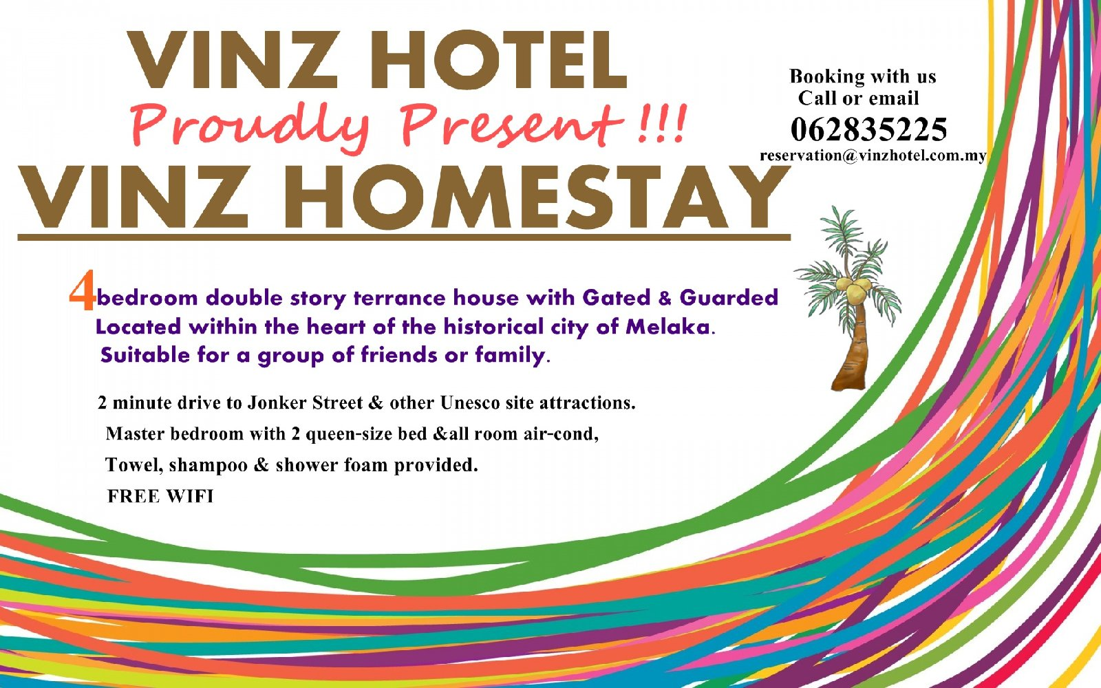 Proudly Present VINZ HOMESTAY