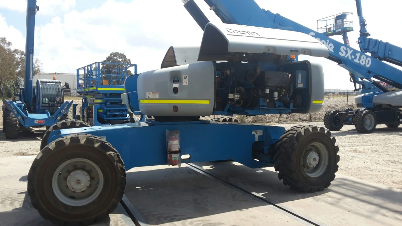 Genie S125 40m Boom lift for sales