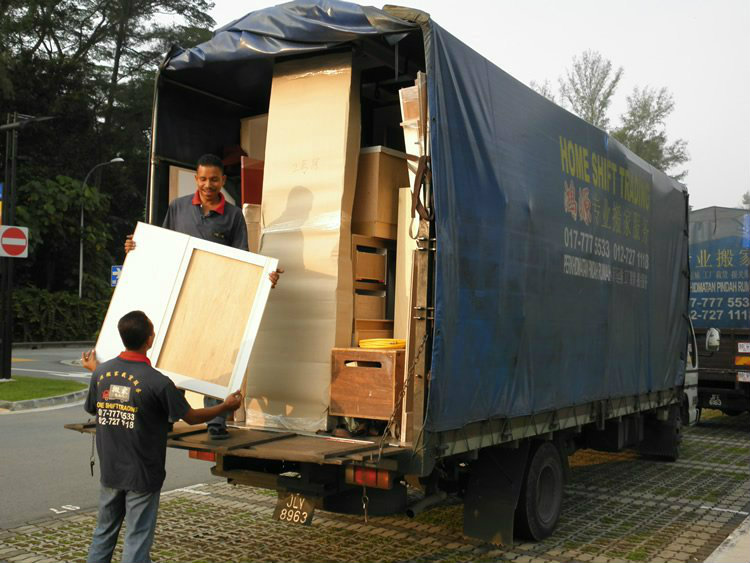 Shifting house between Singapore and Malaysia(5 Ton) 新马两�