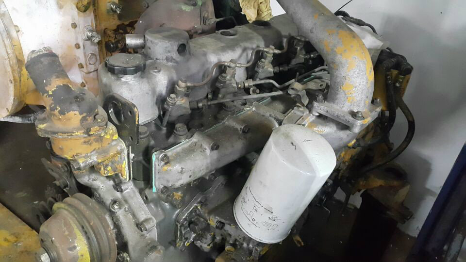 Used Mitsubishi 6D14 Engine