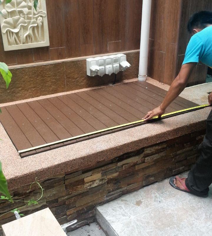 Filter cover pemas jaya filter cover deck fence johor for Koi pond johor bahru
