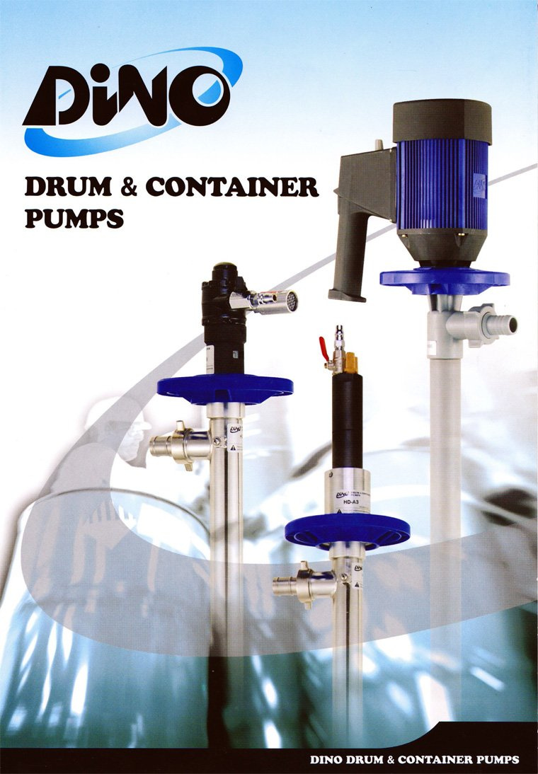 Dino Drum and Container Pump