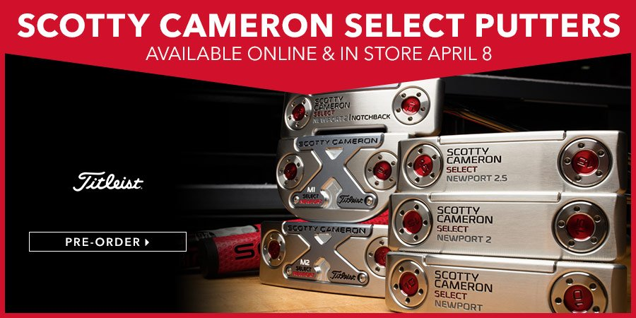 The New Scotty Cameroon Putters are Available for ONLINE Buying Now!