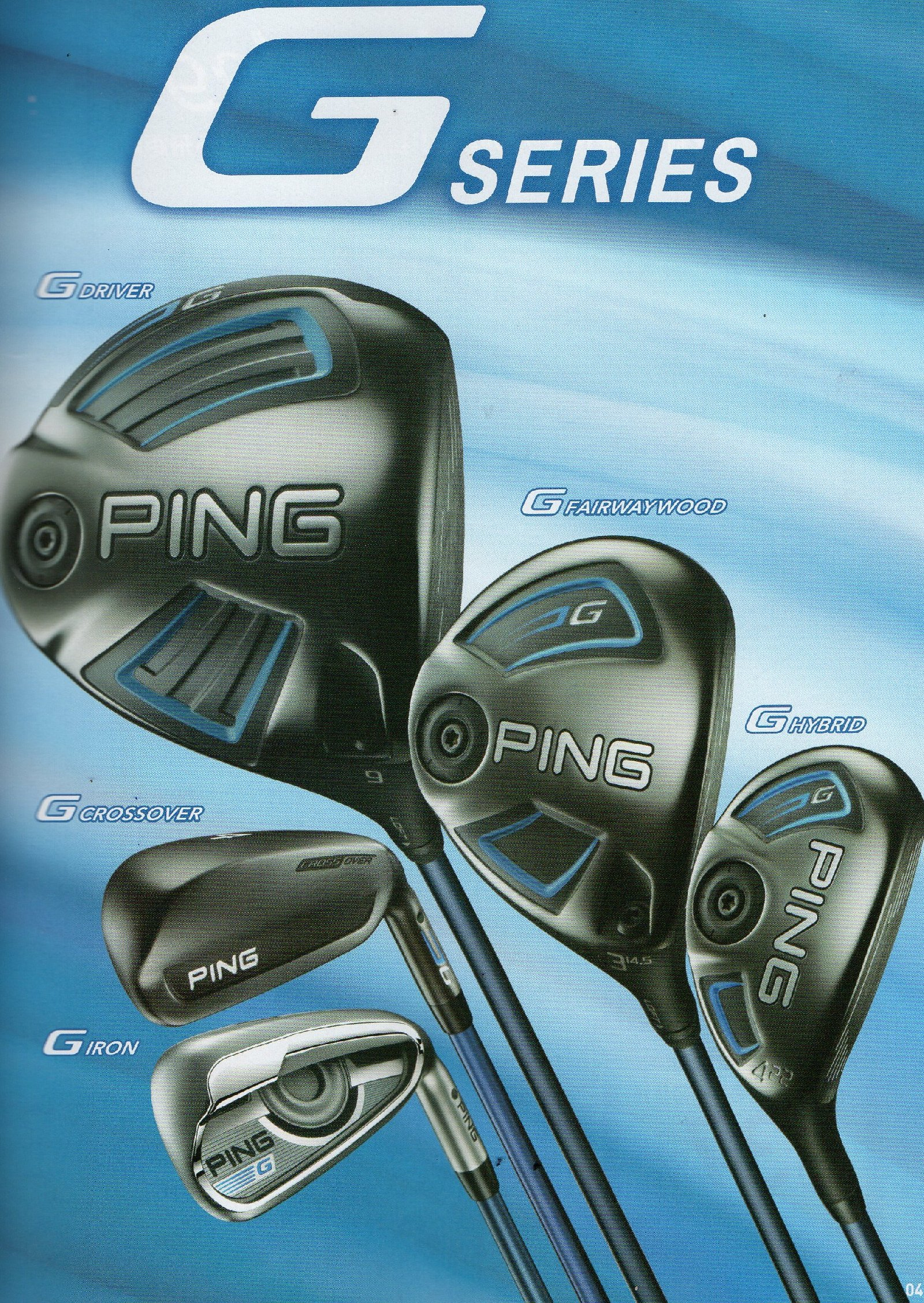 PING G SERIES Golf Equipments