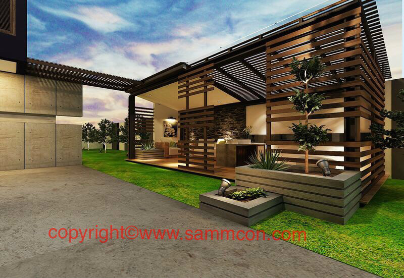 outdoor palvilion design and build Johor Bahru