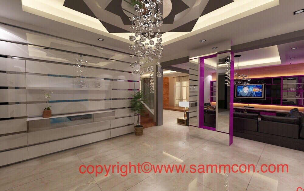 design and ceiling construction works
