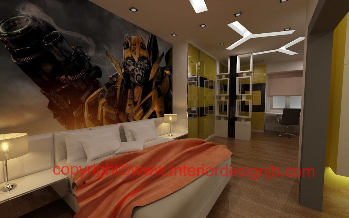 impian emas . ceiling design works