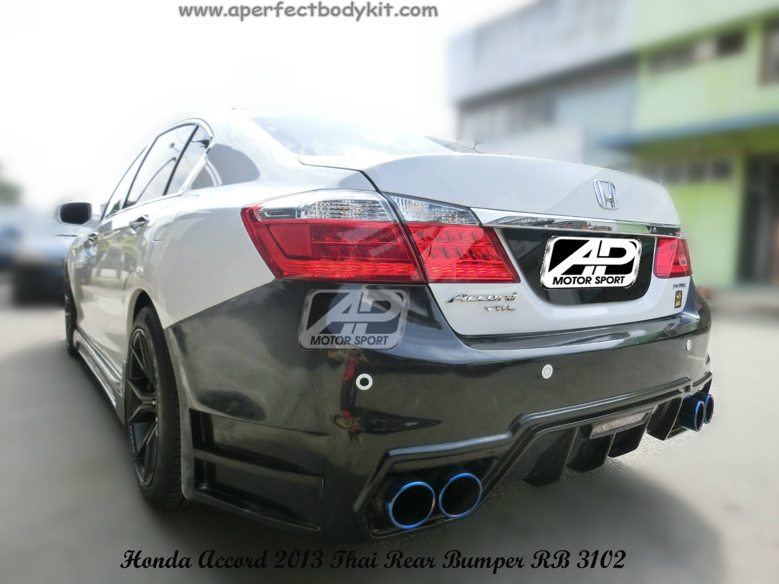 Honda Accord 2013 Thai Rear Bumper Honda Accord 2013 Johor