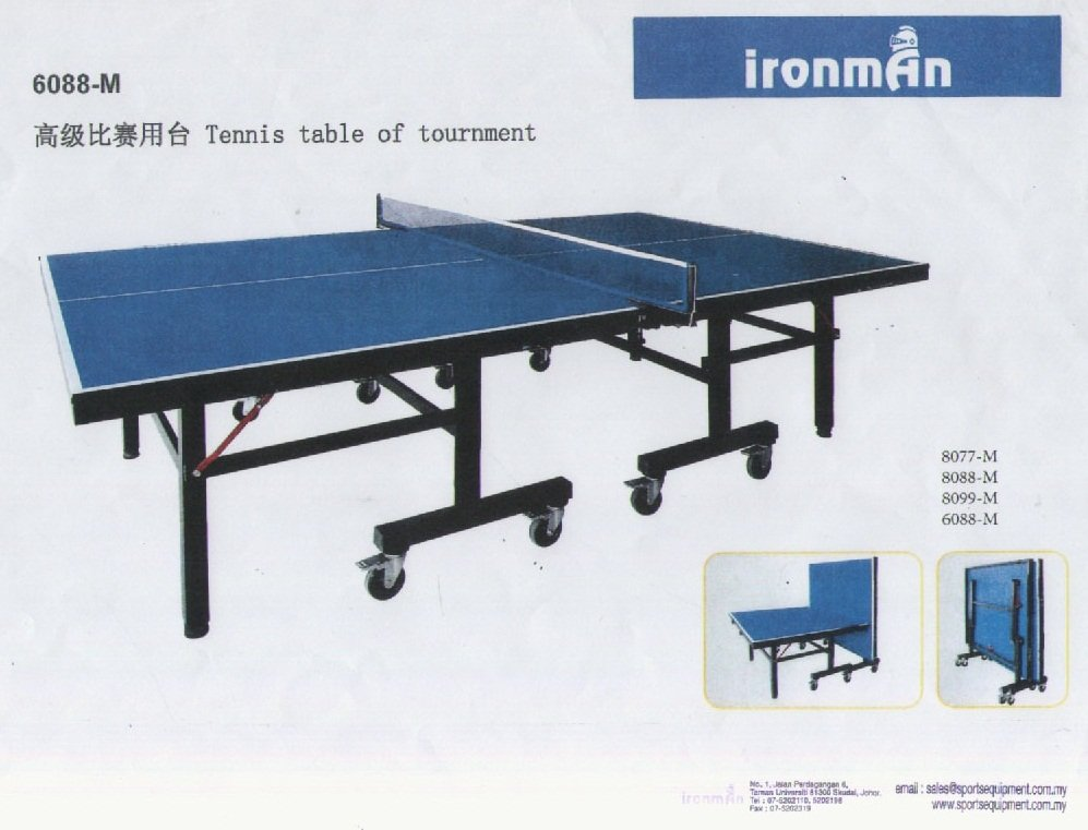 Tennis Table for Tournment 6088-M