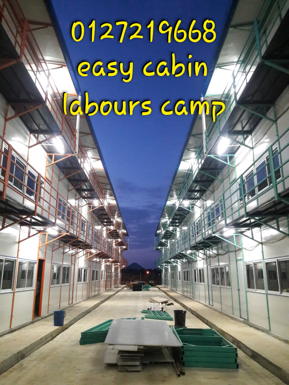 easy cabin, labour camp