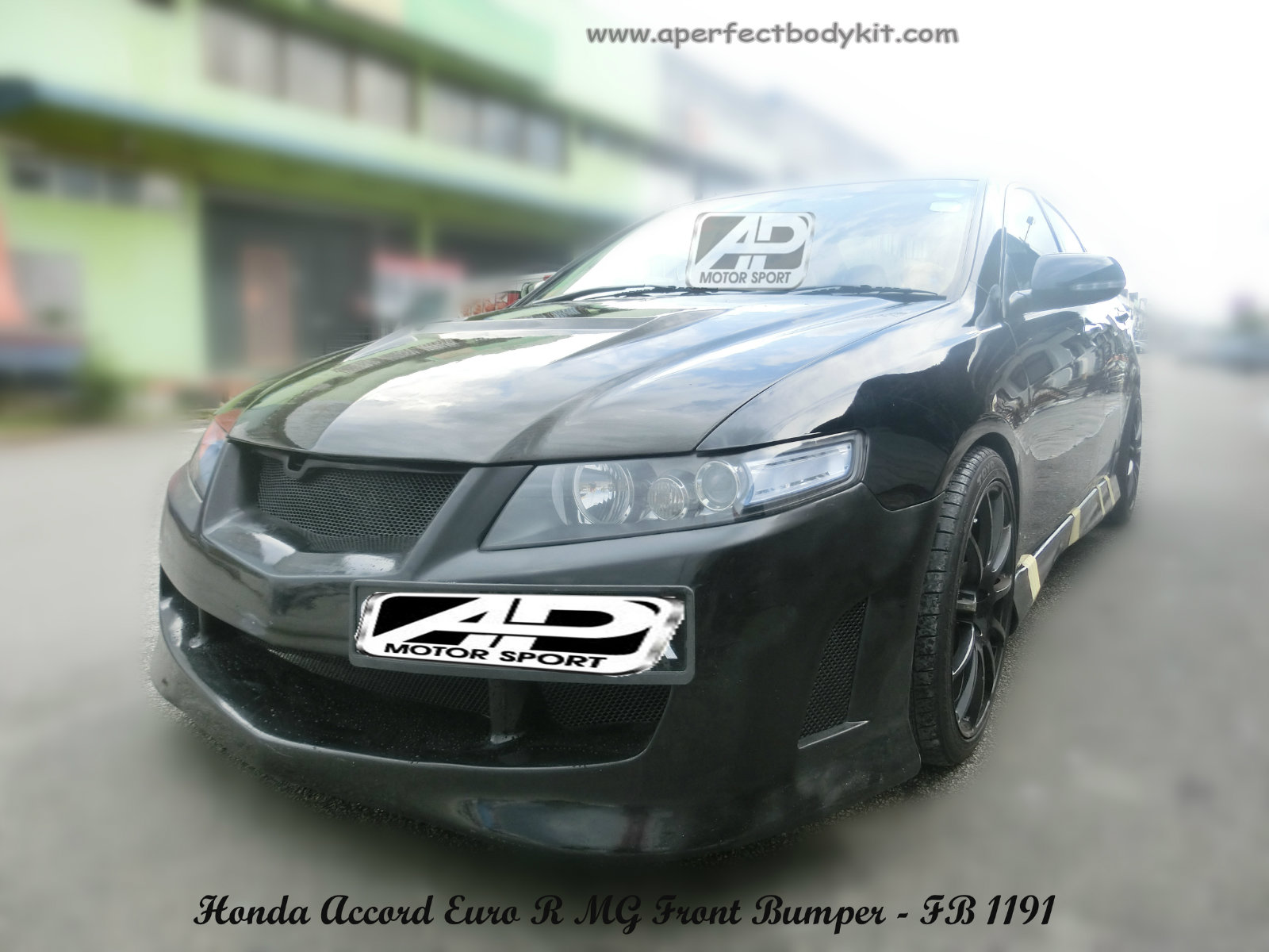 Honda Accord Euro R MG Front Bumper