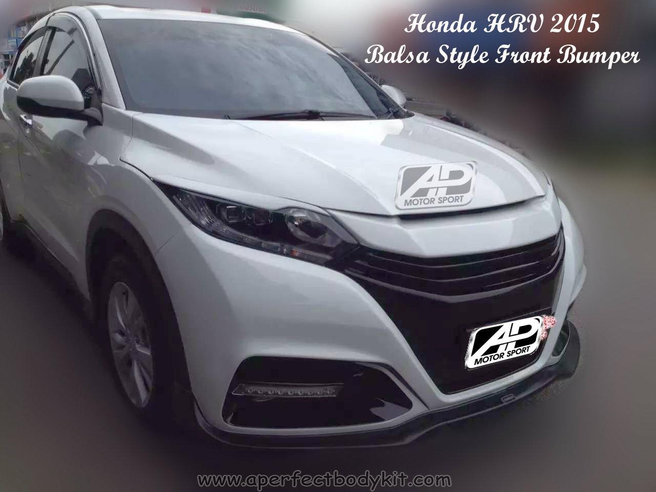 Honda HRV 2015 Balsa Style Front Bumper Honda HRV / Vezel ...