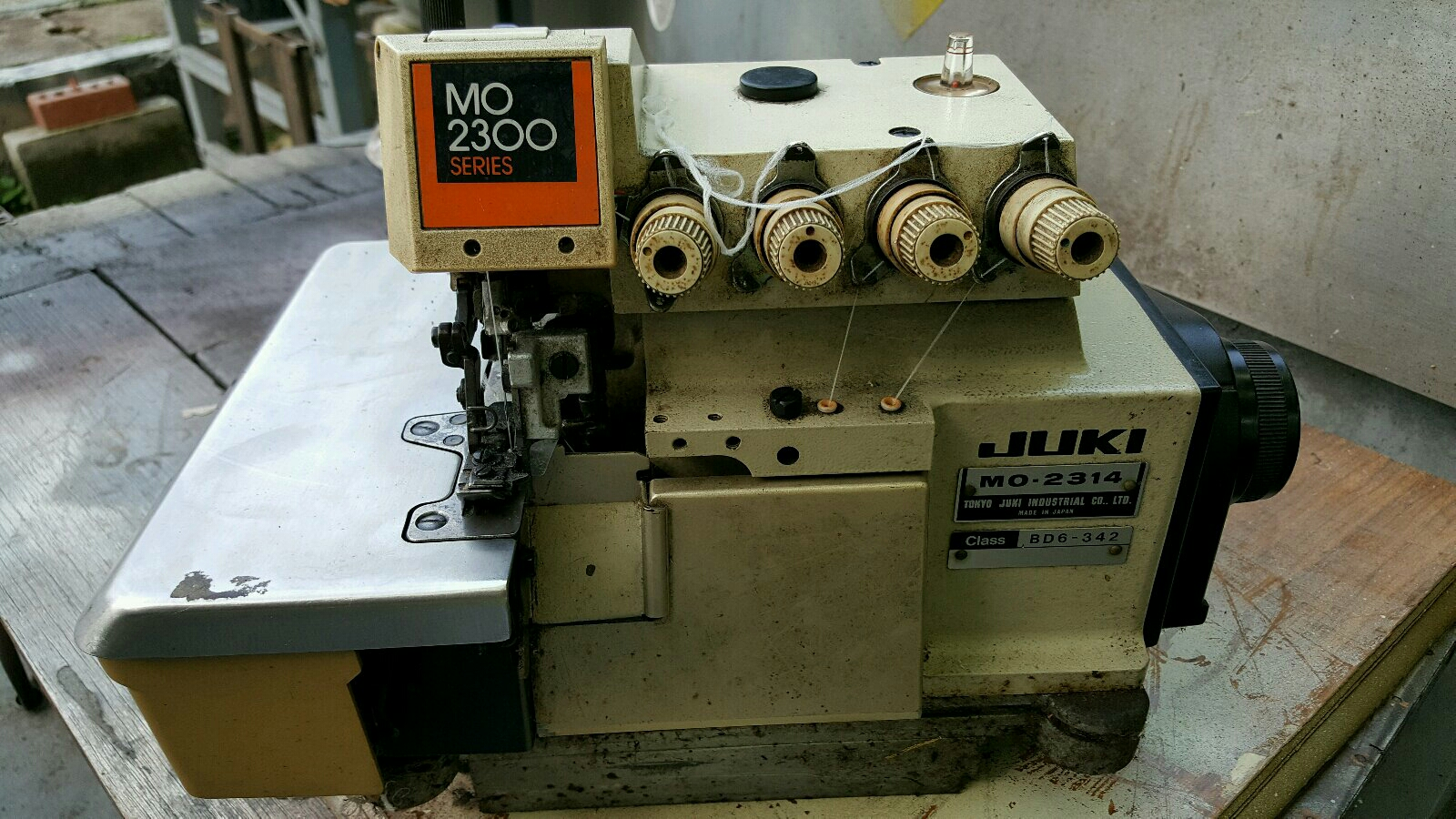 Juki Super Overlock sewing machine