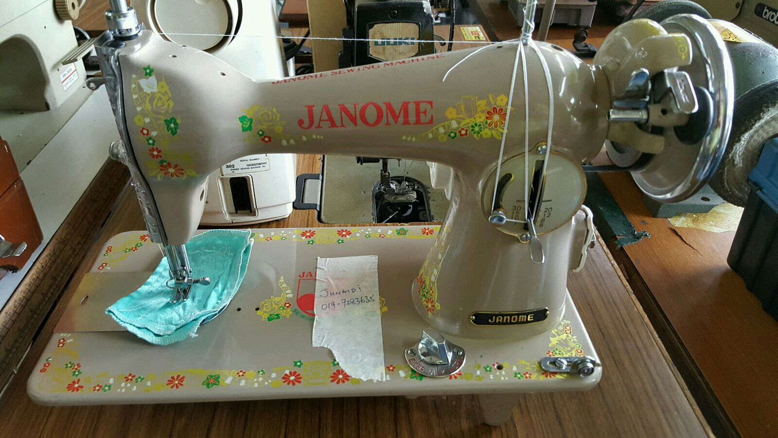 Anti janome sewing machine