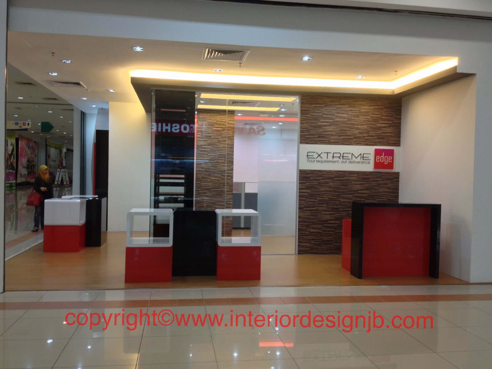 showroom design and renovation Johor Bahru