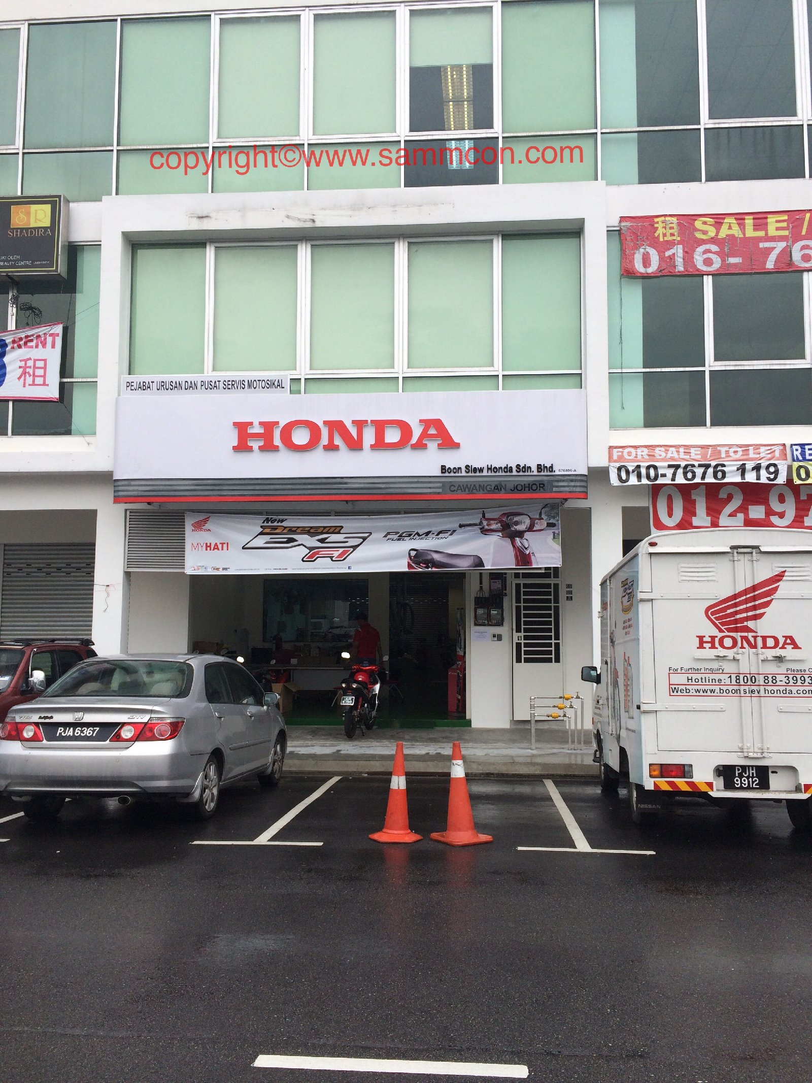 Head office renovation Johor Bahru - Boon Siew Honda JB
