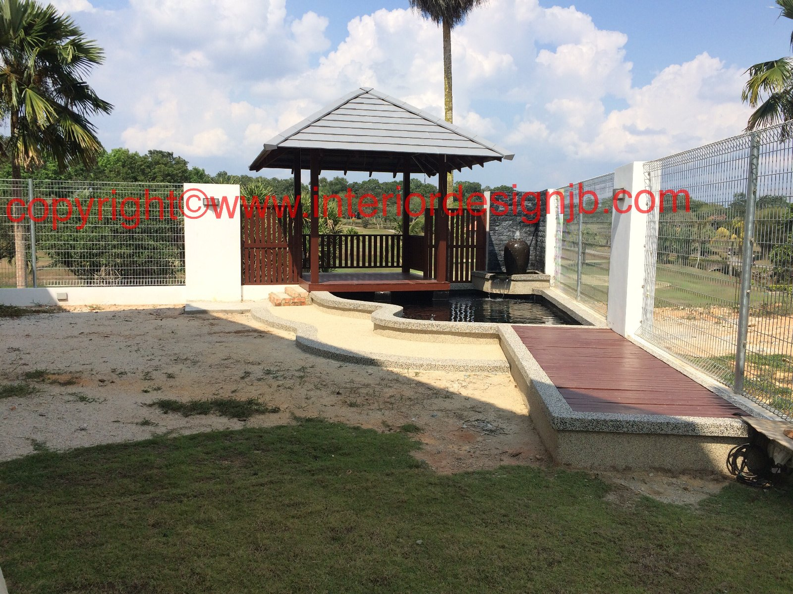 Fish Pond and water feature renovation and build Johor Bahru