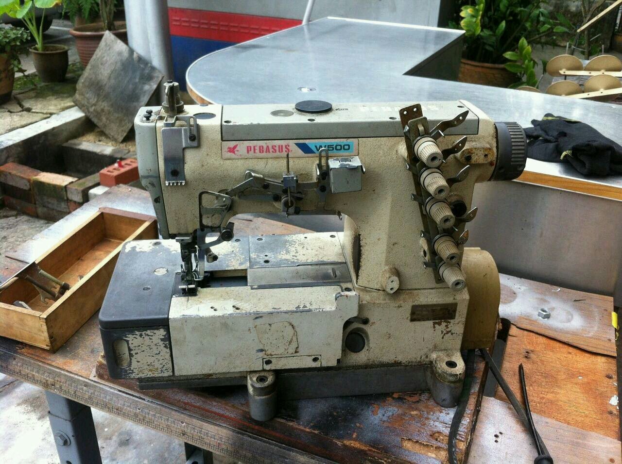Repai interlock Sewing machine@@@