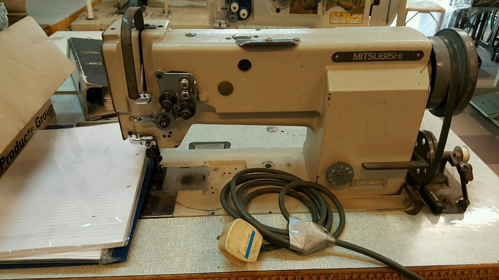 Repai Mitsubishi Sewing Machine