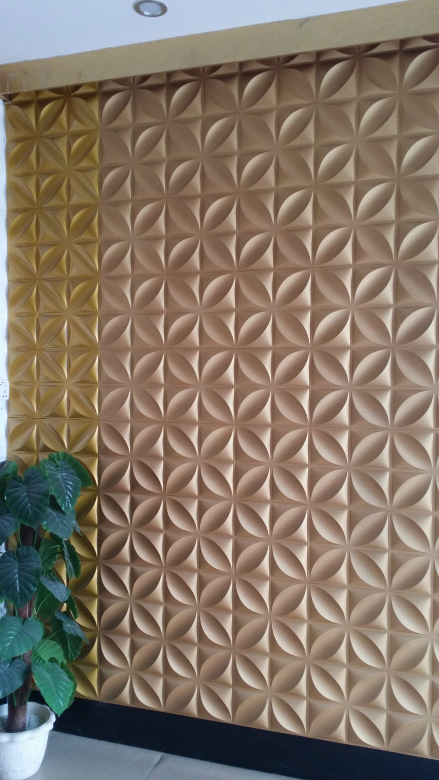 WPC, 3D wall cladding