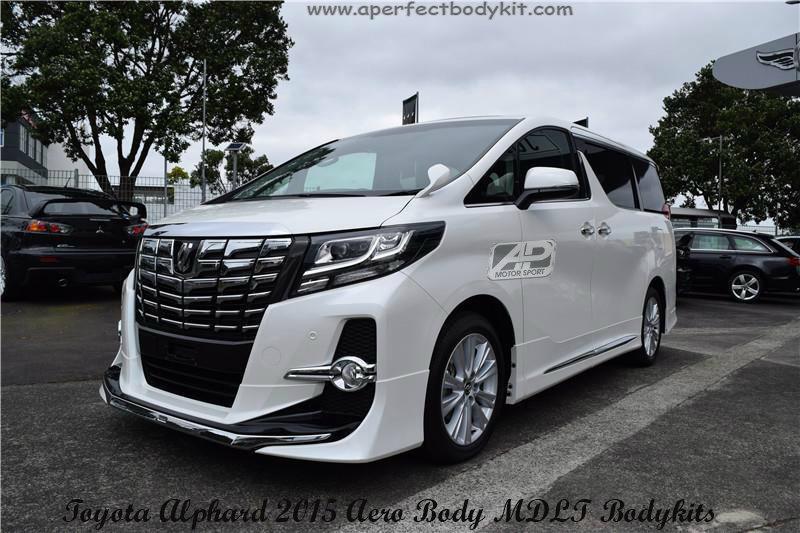 Toyota Alphard 2015 Aero Body MDLT Bodykits Toyota Alphard 2015 Johor Bahru JB Malaysia Body ...