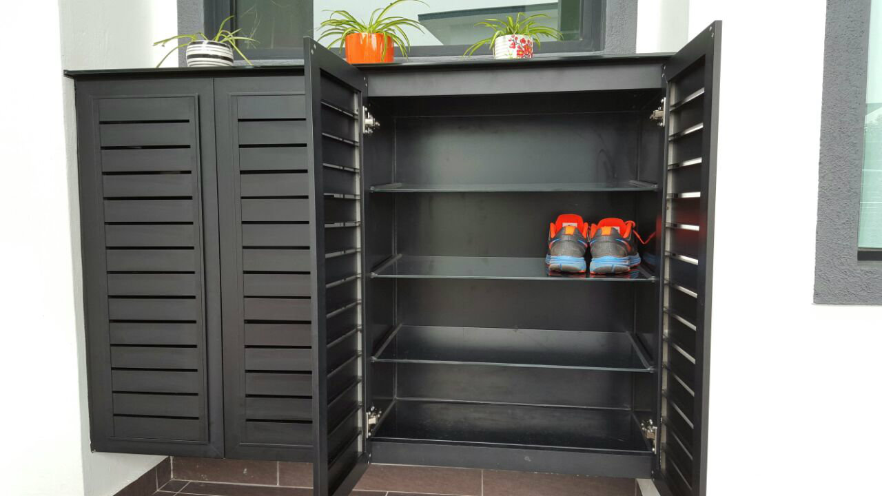 Alum Shoes Cabinet