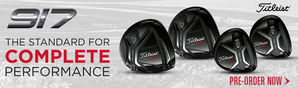 PreBook the HOTTEST Titleist 917 Driver and Fairway Wood!