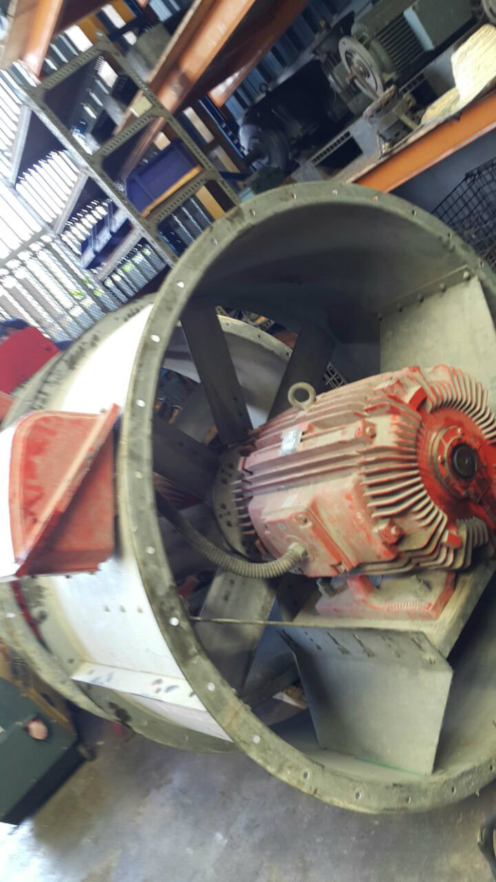 55KW/75HP Multi Speed Three Phase Blower Motor for Fire Figh