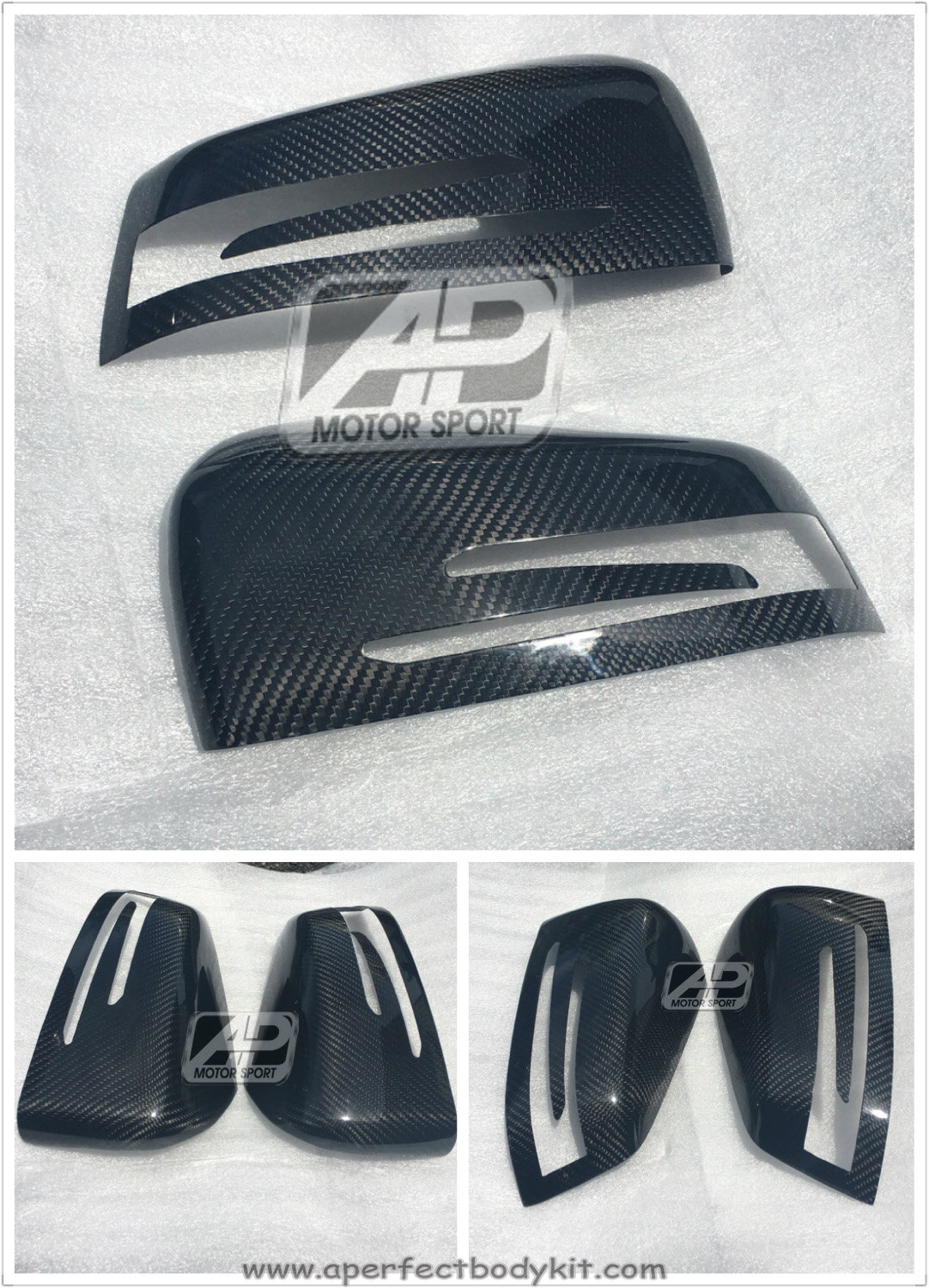 Mercedes A/C/E/CLS/CLA Carbon Fibre Side Mirror add on cover