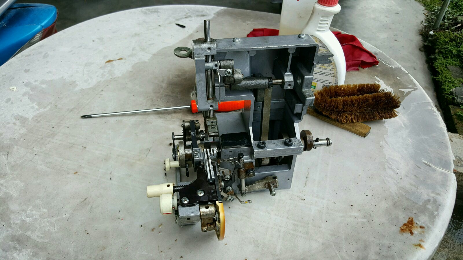 Repai Potable Overlock Sewing Machine At Tmn Rinting Pasir Gudang!!!