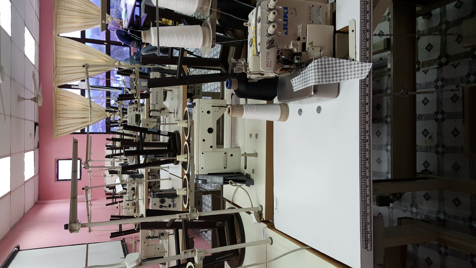 At Kolej Komurity Pasir Gudang Repai Sewing Machine@@@