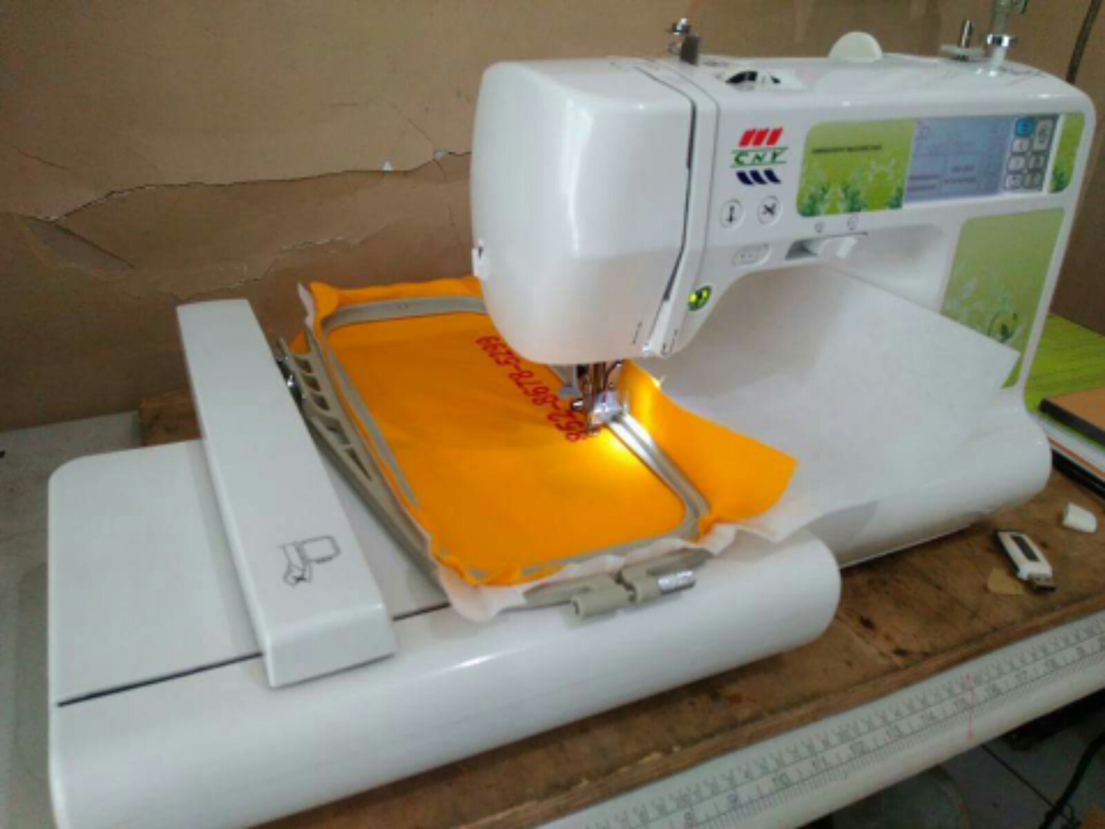 CNC Emboirdery SewingMachine@@