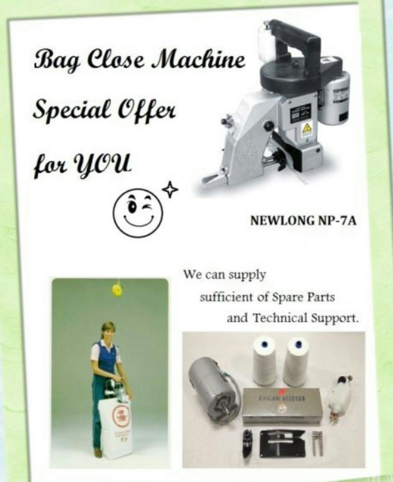 New Long Bag Colsing Machine@@