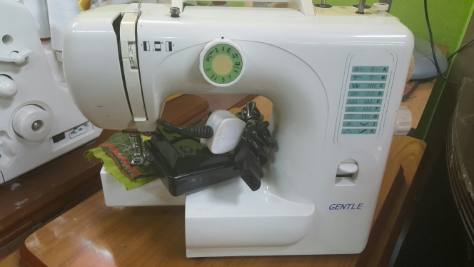 2nd sewing machine@@