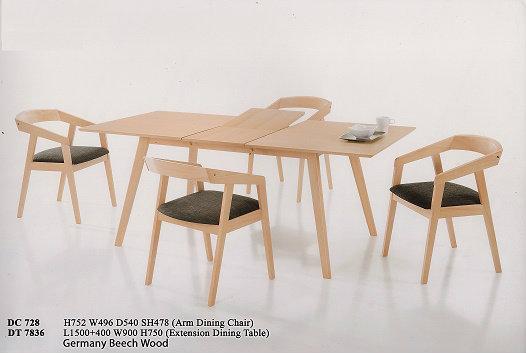 i04 Dining Set Wood Johor Bahru JB Malaysia Furniture  : 14812794275f407e5784a9059453116cb2290e3135 from www.soonlyann.com size 526 x 353 jpeg 34kB