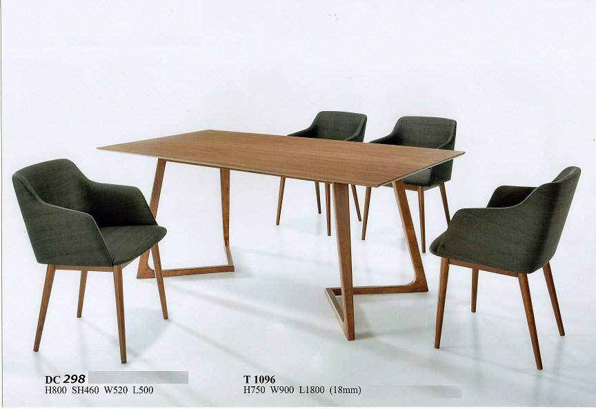 I03 dining set wood johor bahru jb malaysia furniture for Furniture johor bahru