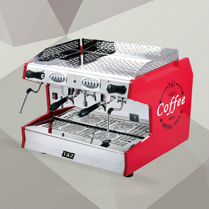 T Series Double Group Espresso Coffee Machine T2