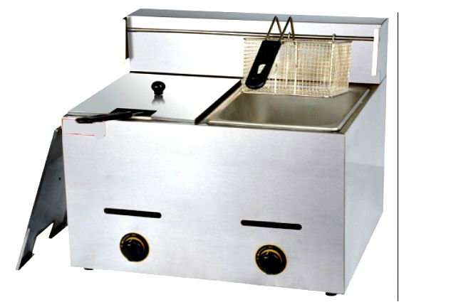Deep Fryer Gas Double Tank FY