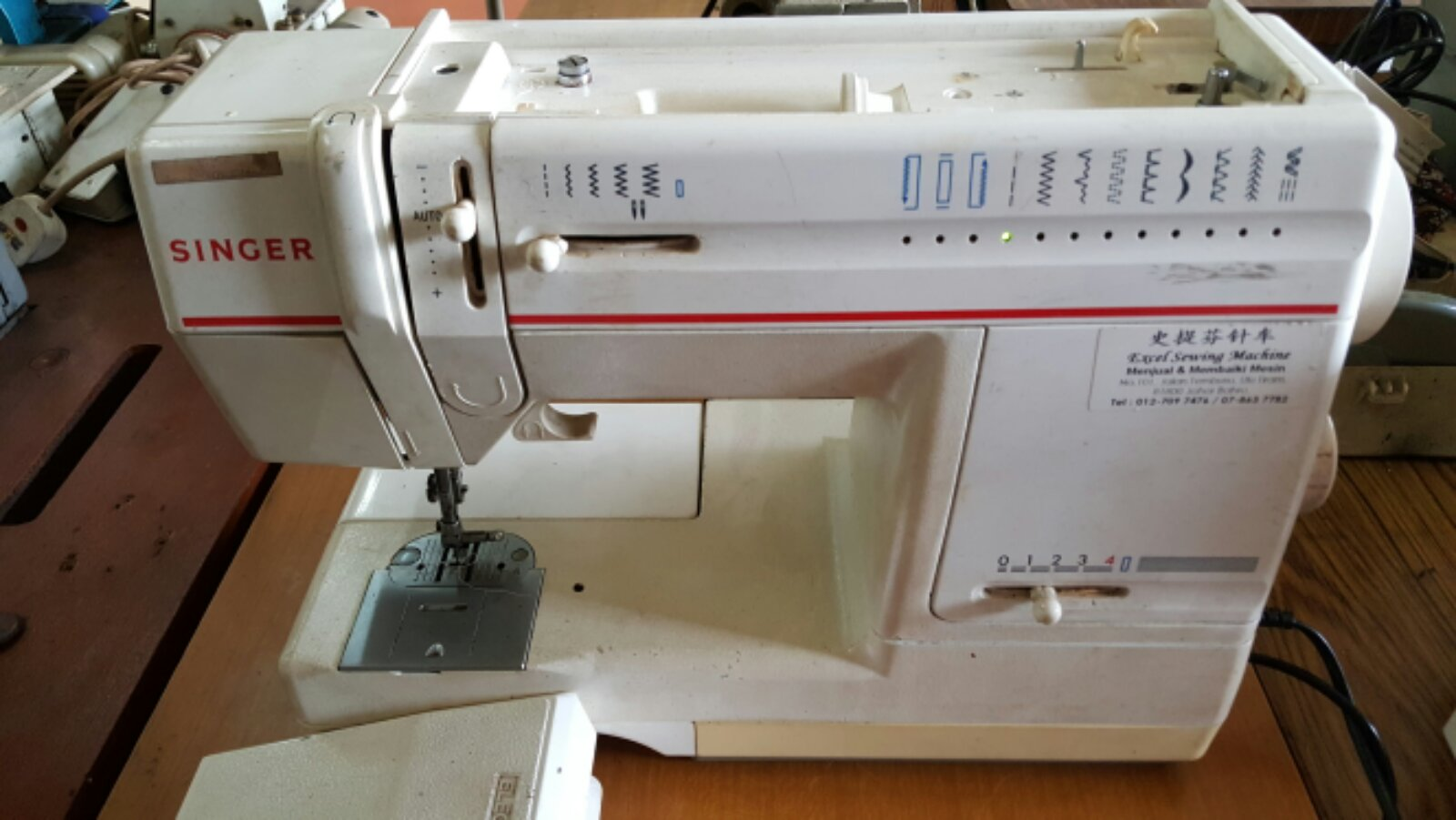 Repai Singer Portable Sewing Machine@@